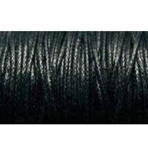 Baumwollkordel, Schwarz, 5m