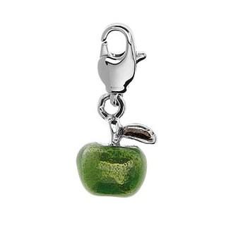 Charm-Anhänger, Apfel, 3D
