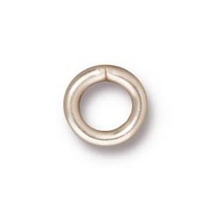 Ring, Verbinder, 8mm, Versilbert, geschlossen, 1 Stück