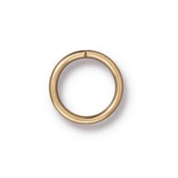 Ring, Verbinder, 8mm, Vergoldet, geschlossen, 1 Stück