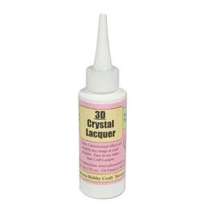 3D Kristalllack, Kleber, 60ml, 1 Stück