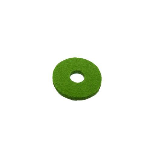 Filzscheibe, Rund, Grün, 26mm, 1 Stück