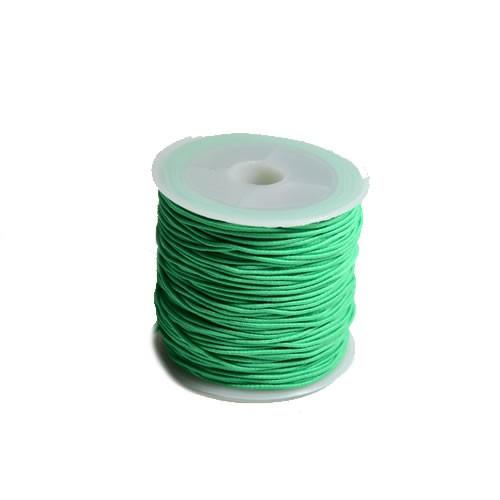 Gummiband, 1,2mm, Grün, 1 Meter