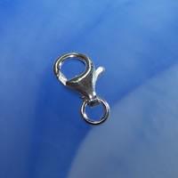 Karabiner, 925 Silber, 11mm, Typ Neu, 1 Stück