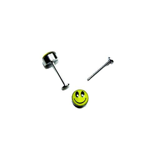 T-Stift für Wechselringe mit Smiley, 16mm, 1 Stück