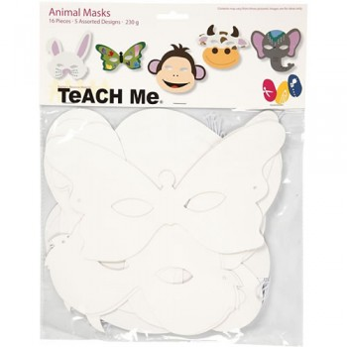 Teach ME®, Tier-Masken, 16 Stück