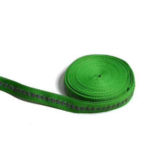 Reflektorband, 10mm, Grün, 50cm