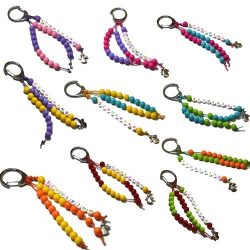 Schlüsselanhänger, Rechenkettchen, DIY