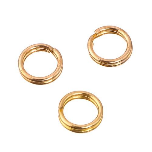 Spaltring, Goldfarben, 5mm