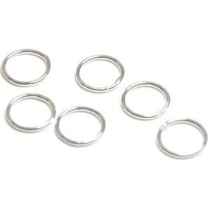 Ring geschlossen, 925 Silber, 10/1mm, 1 Stück
