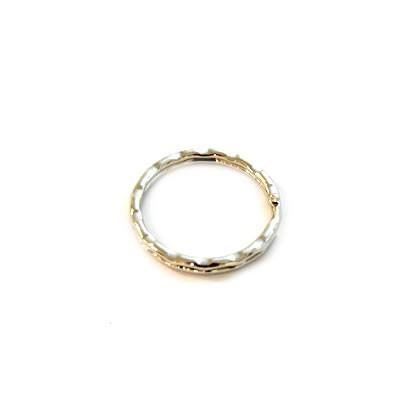 Schlüsselanhänger, Ring, Eingekerbt, 30mm, 1 Stück