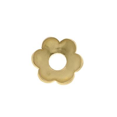 Scheibe, Blüte 2, Vergoldet