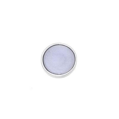 Aufsatz, Emaille, Flieder transparent , 12mm