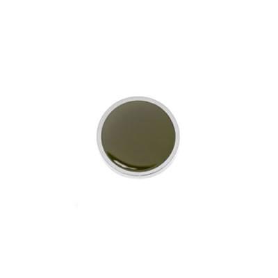 Aufsatz, Emaille, Olivgrün, 20mm