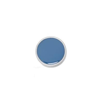 Aufsatz, Emaille, Türkis, 20mm