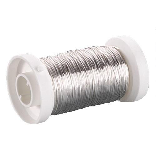 Kupferdraht, Silber, 0,25mm, 150m, 1 Rolle