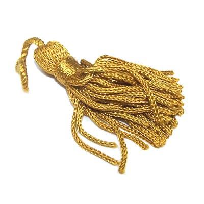 Quaste,Troddel, Tassel, Gold, 5cm, 1 Stück