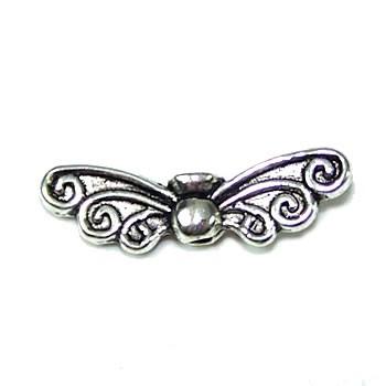 Elfenflügel, Antik Silberfarben
