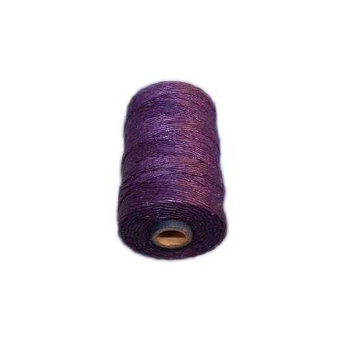Irisches Gewachstes Leinen, Waxed Linen, Lila, 4 ply, 5g