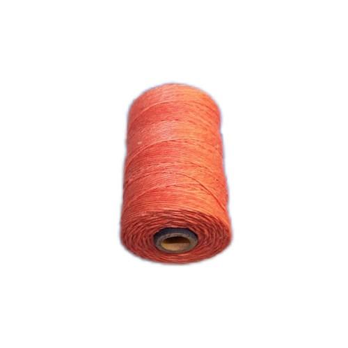 Irisches Gewachstes Leinen, Waxed Linen, Rosa/Lachs, 4 ply, 5g