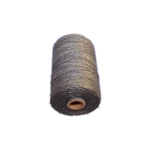 Irisches Gewachstes Leinen, Waxed Linen, Grau, 4 ply, 5g