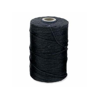 Irisches Gewachstes Leinen, Waxed Linen, Navy Blau, 4 ply, 5g
