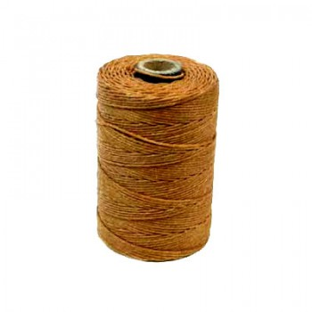 Irisches Gewachstes Leinen, Waxed Linen, Butterscotch, 4ply, 5g