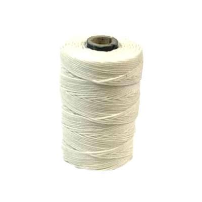Irisches Gewachstes Leinen, Waxed Linen, Weiß, 4 ply, 5g