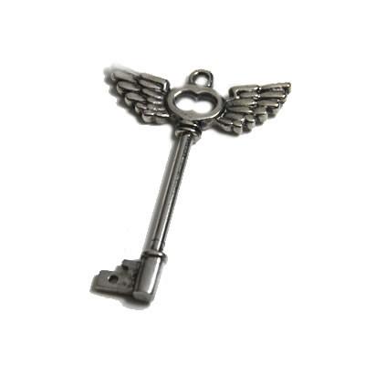 Wechselanhänger, Schlüssel, Flügel, 1 Stück