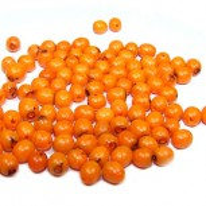 Baby-Samenperlen, Orange, 20g