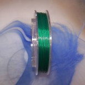 Collierdraht, Grün, 0,4mm, 1 Meter