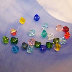 Glasperlenmix, Pyramidenperlen