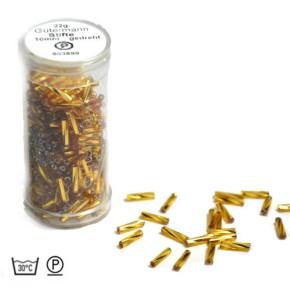 Stiftperle, Gedreht, Goldfarbig, 10mm, 1 Dose