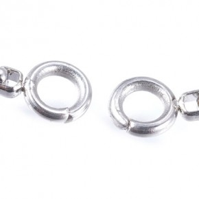 Armband, Kasten/offen, 304 Edelstahl, 23cm, Sliderperle, 1 Stück