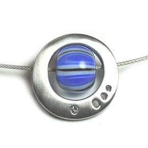 K-Design, Saturn, Rhodiniert, 1 Stück