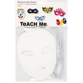 Teach ME®, Karnevals-Masken, 16 Stück