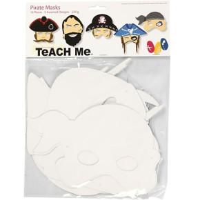 Teach ME®, Piraten-Masken, 16 Stück