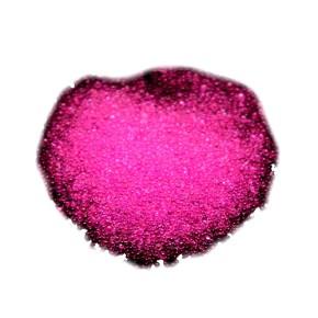 Microperlen, 0,6~0,8mm, Tr. Deep Pink, 10gramm FlipTopbox
