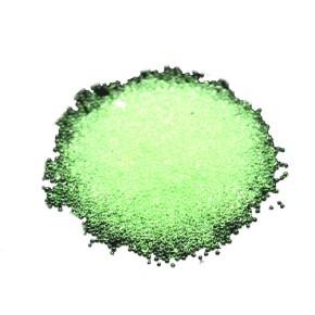 Microperlen, 0,6~0,8mm, Tr. Pale Green, 20gramm in Tütchen