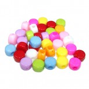 Kunststoffperlen, Drops, 10 Stück