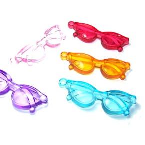 Kunststoffanhänger, Sonnenbrille, Groß, 2 Stück