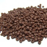 Rocailles, 2mm, opak, Chocolate, 20g