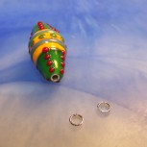 Silberhülsen, 3mm, Sterling Silber, 1 Paar