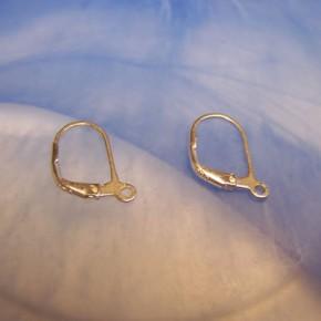 Ohrhaken, Brisuren, 925 Silber, 1 Paar