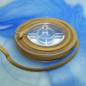 Veloursband, Ocker, 2,5 Meter