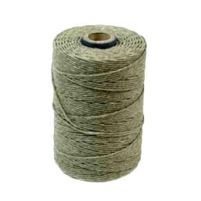 Irisches Gewachstes Leinen, Waxed Linen, Oliv, 4 ply, 5g
