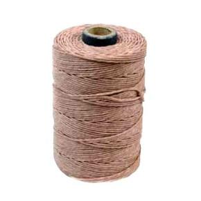 Irisches Gewachstes Leinen, Waxed Linen, vctrn Rose, 4 ply, 10m